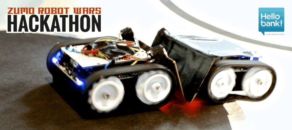 Zumo Robot Wars Hackathon for Hello Bank