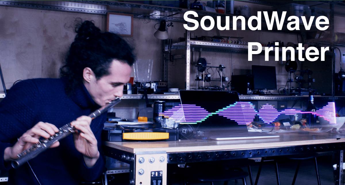 Arduino Jam - soundwave printer