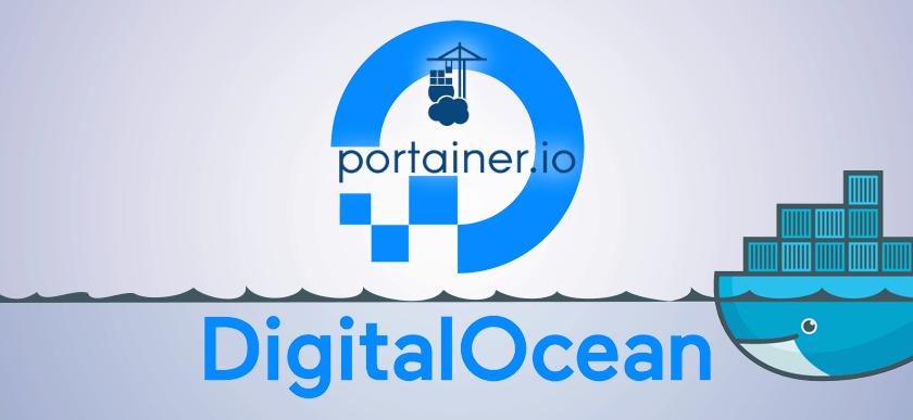 portainer digitalocean docker