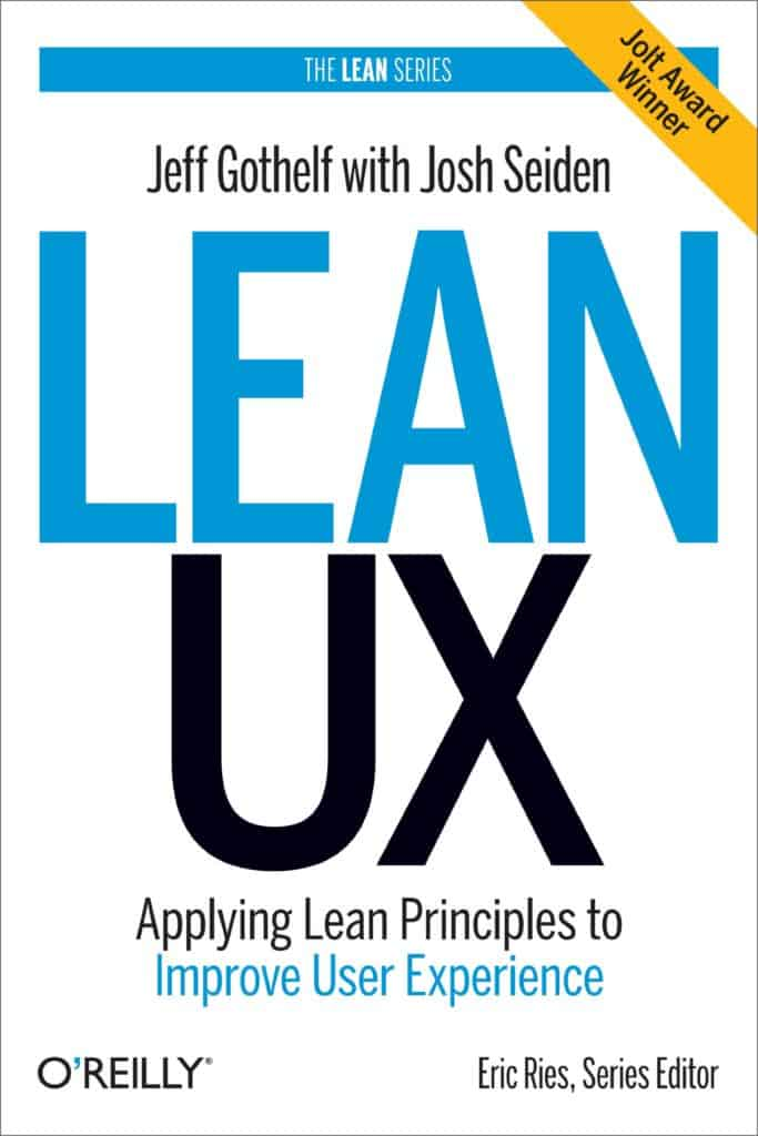 Lean UX book cover